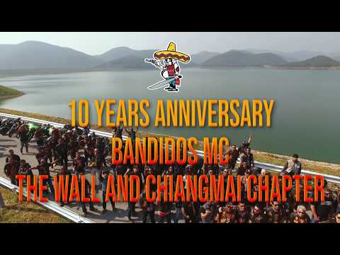 Download 10years Anniversary Bandidos Mc The Wall And Chiangmai