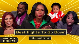 Prepare Your Ears! Best Fights To Go Down In Paternity Court (Compilation) | Paternity Court