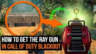 How To Get The SUPER RARE Ray Gun In Call of Duty Blackout