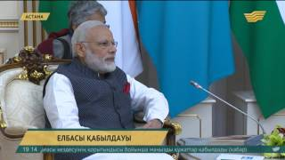 Елбасы Үндістан Премьер-Министрі Нарендра Модимен кездесті