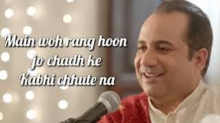 Dillagi Lyrics | Rahat Fateh Ali Khan | Manoj Muntashir | Huma