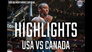 USA BOUNCE BACK VS CANADA // HIGHLIGHTS