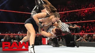 Ronda Rousey vs. Ruby Riott - Raw Women