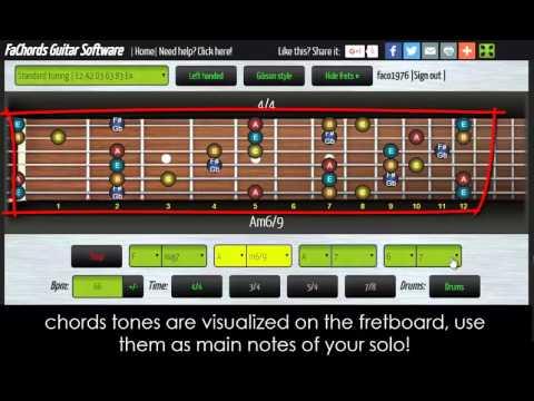 Chords Progressions Generator Software