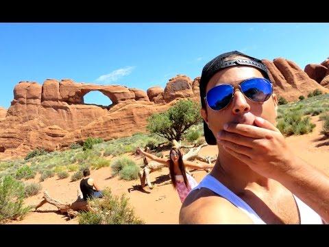 Mazec Americký Park Arches | USA Trip Den 20