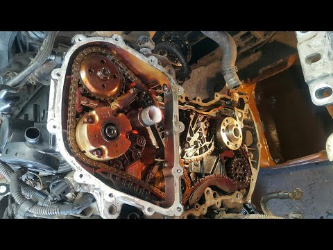 VW BORA 2.5 2010 CADENAS DE DISTRIBUCIÓN/TIMING CHAIN REPLACEMENT | Omar VW