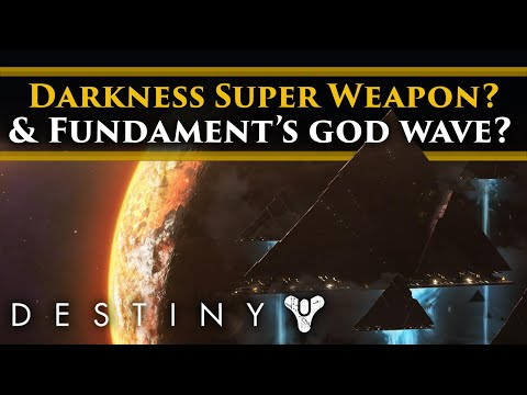 Destiny 2 Shadowkeep Lore - The Darkness' Super Weapon? Speculating about Fundament's God wave.