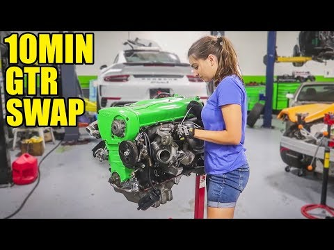 BUILDING MY BEST FRIEND'S CAR IN 10 MINUTES