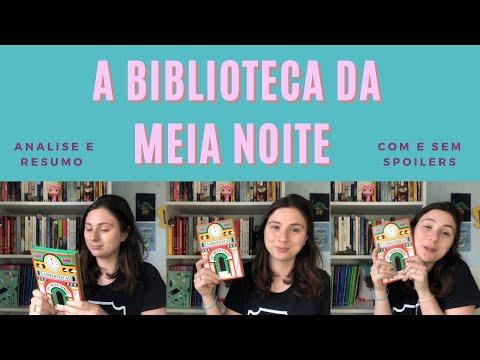 A BIBLIOTECA DA MEIA NOITE - UM LIVRO COM MULTIVERSO