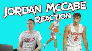 Professor Reacts to Jordan McCabe going off for 42 points!