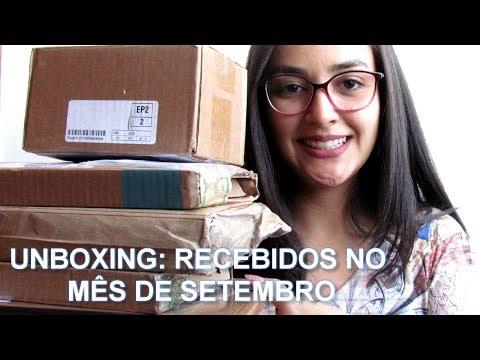 Mês de setembro em Unboxing (Vlog) l 2019