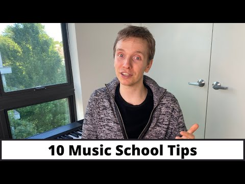 10 Music School Tips - How to Get Accepted to College for Music