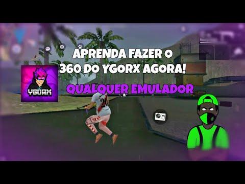 COMO FAZER 360 IGUAL DO YGORX QUALQUER EMULADOR!!! #proff