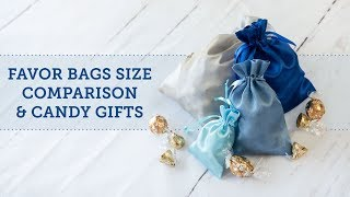 Best Size Favor Gift Bags 🍬 | BalsaCircle.com