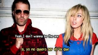 Be the one - The ting tings (sub español)