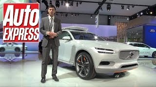 Volvo XC Coupe (new XC90) at Detroit 2014 - Auto Express