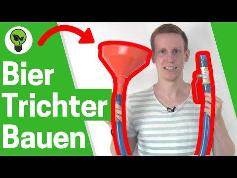 Bier Trichter Bauen ✅ ULTIMATIVE ANLEITUNG: Wie Bierbong Selber mit Ventil & Schlauch Richtig Bauen?