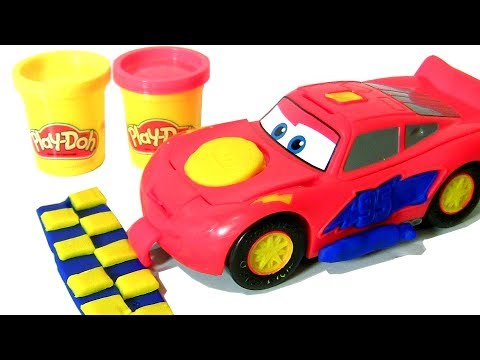 Play Doh Cars 3 Lightning McQueen Disney Pixar Cars 3