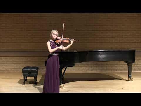 Bach a minor sonata - Grave