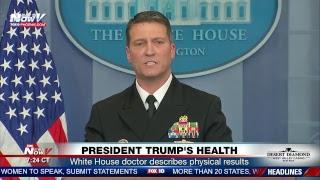 FNN: President Trump surprise appearance at women