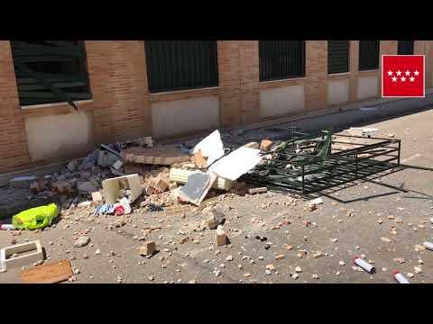 10.05.18. Explosión en vivienda Talamanca del Jarama.
