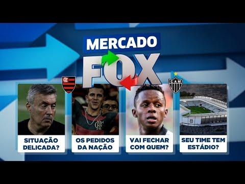 Barcelona x Fla define futuro de Dome? Que técnico a Nação quer? Cazares no Corinthians? Mercado FOX