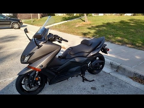 2015 Yamaha TMAX 530 Part 1 (USA Version)
