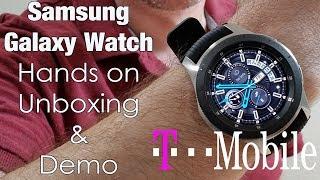 Samsung Galaxy Watch LTE Model 2018 - Unboxing & Demo