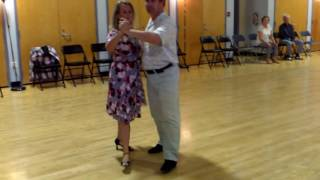 Central Jersey Dance Society Pure Ballroom dance American Foxtrot lesson with Ludo 9 25 16
