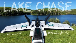 Lake Chase - Flying wings and chasing everything - Cinematic FPV