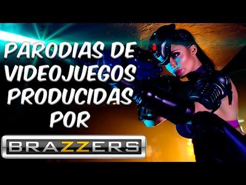 6 Parodias Pornos de Videojuegos produccidas por Brazzers