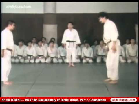 Sensai Tanaka and Kenji Tomiki Aikido demo - Naijafy