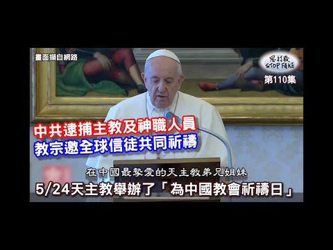 【思打廢-STOP FAKE】第110集 教宗籲全球教徒為中國教會禱告