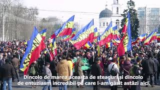 Centenar 2018, Chişinău. Moldovenii încă mai cred că Basarabia poate fi România