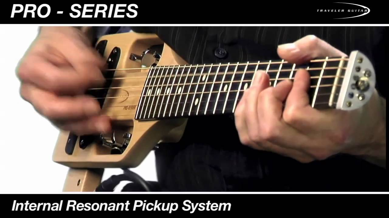 Traveler Guitar Pro-Series Hybrid Acoustic/Electric Guitar Overview and Demo
