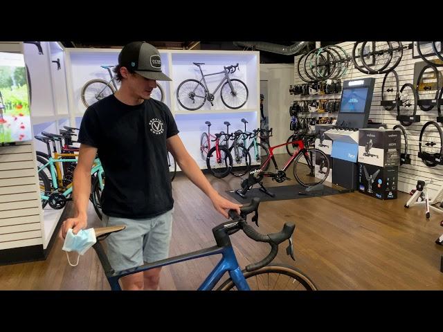 Видео Велосипед Scott Addict RC 20 Navy Blue