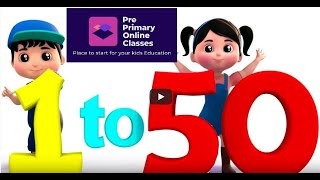 Learn To Count 1 to 50 | Numbers Counting 1 to 50| Learn Writing 1-50 For Kids |1 to 50 numbers song