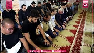 وفد من بعثة المنتخب السعودي تصلي في الحرم الشريف بالقدس المحتلة