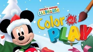 Mickey Mouse Clubhouse - Full Episodes of Color and Play Game by Disney (Christmas Theme) - Gameplay