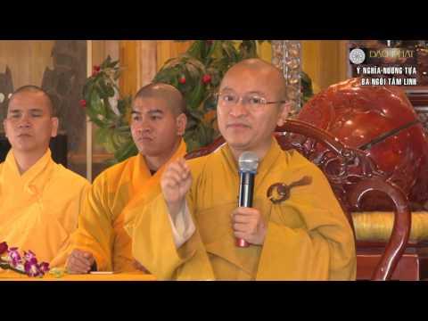 Ý nghĩa nương tựa ba ngôi tâm linh
