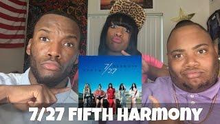 7/27 FIFTH HARMONY ALBUM DELUXE REACTION