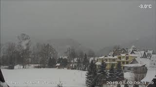 Zakopane , Dzień w Tatrach 2019-01-02