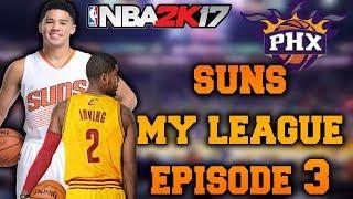 """Biggest Choke Ever?"" Suns My League Ep.3 - NBA 2K17"