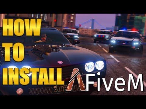 GTA V RolePlay - Tutoriel de A à Z [FiveM + Serveurs] - смотреть