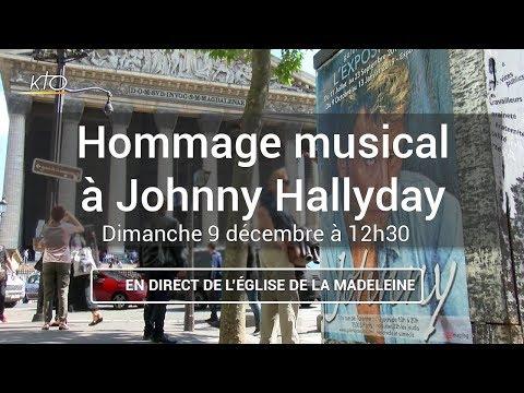 Hommage musical à Johnny Hallyday