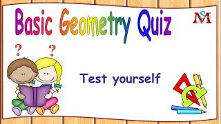 Quiz: Test yourself in Basic geometry/ Multiple choice