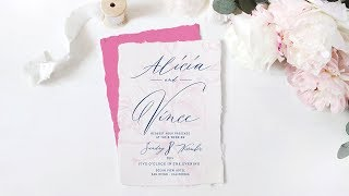 PHOTOSHOP TUTORIAL   Design An Elegant Wedding Invitation