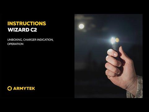 Instructional video Armytek Wizard C2