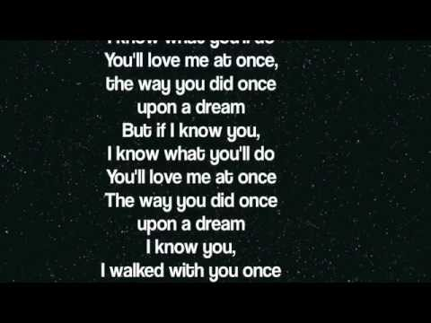 Lana del Rey -  Once upon a dream (Disney's Maleficent Soundtrack) Lyrics