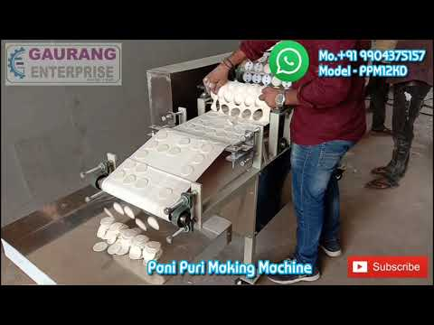 Pani Puri Machine